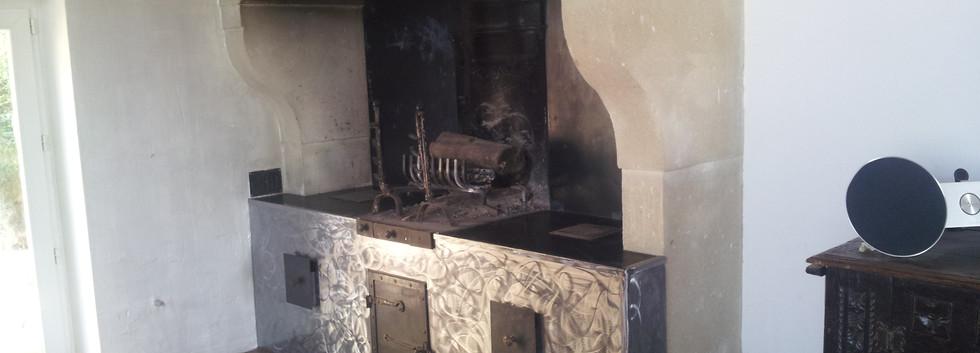 Meuble sous cheminée