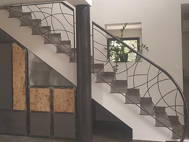 Garde corps escalier