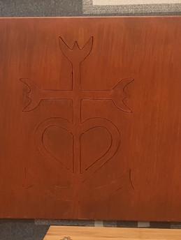 Croix de Camargue en découpe plasma