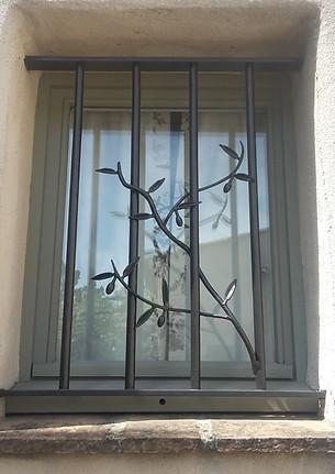 Motifs grille de protection fenêtre