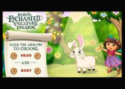 Dora's Enchanted Creature Creator