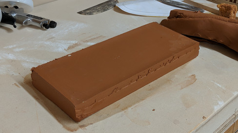 Solid slab reduction technique.