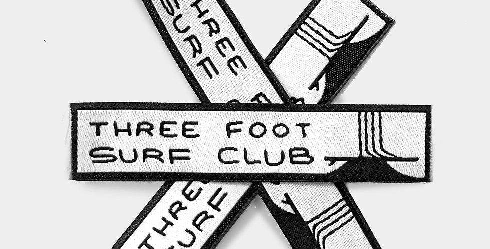 """Ripple 01"" | Three Foot Surf Club Patch"