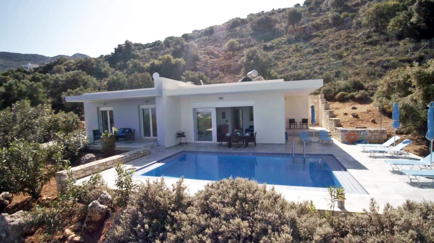 Villa Pénélope en Crète