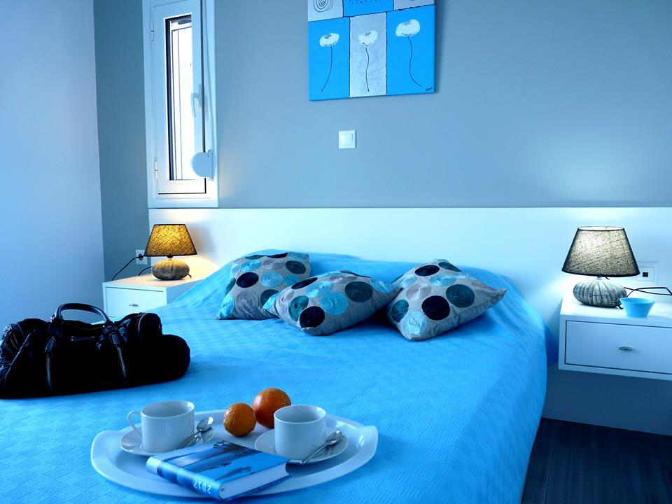 Chambre double maison en Crète