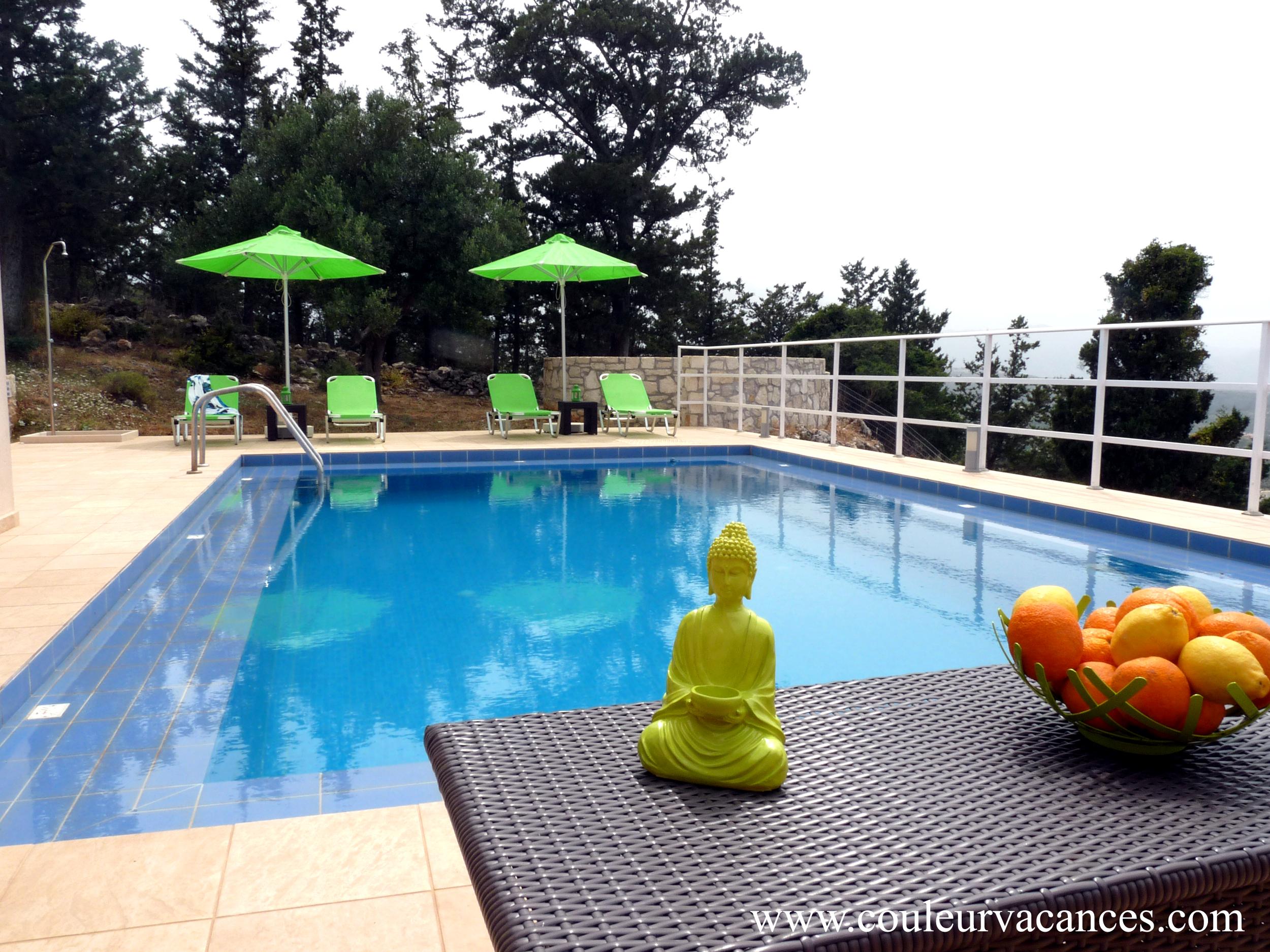 location villa crete