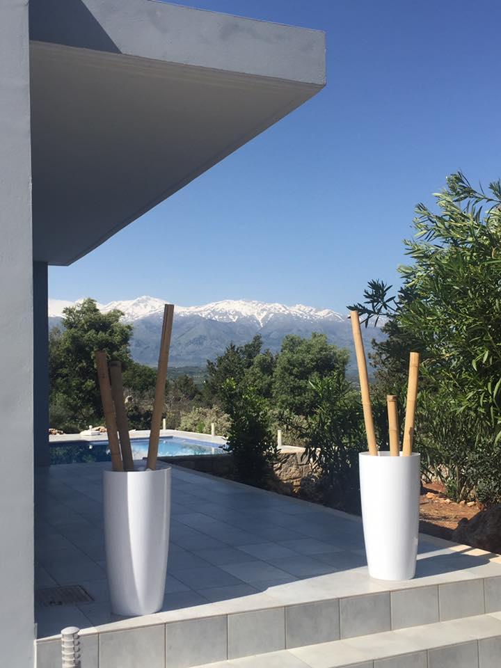 Vue montagne location en Crète