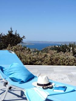 Vue Mer Villa en Crète