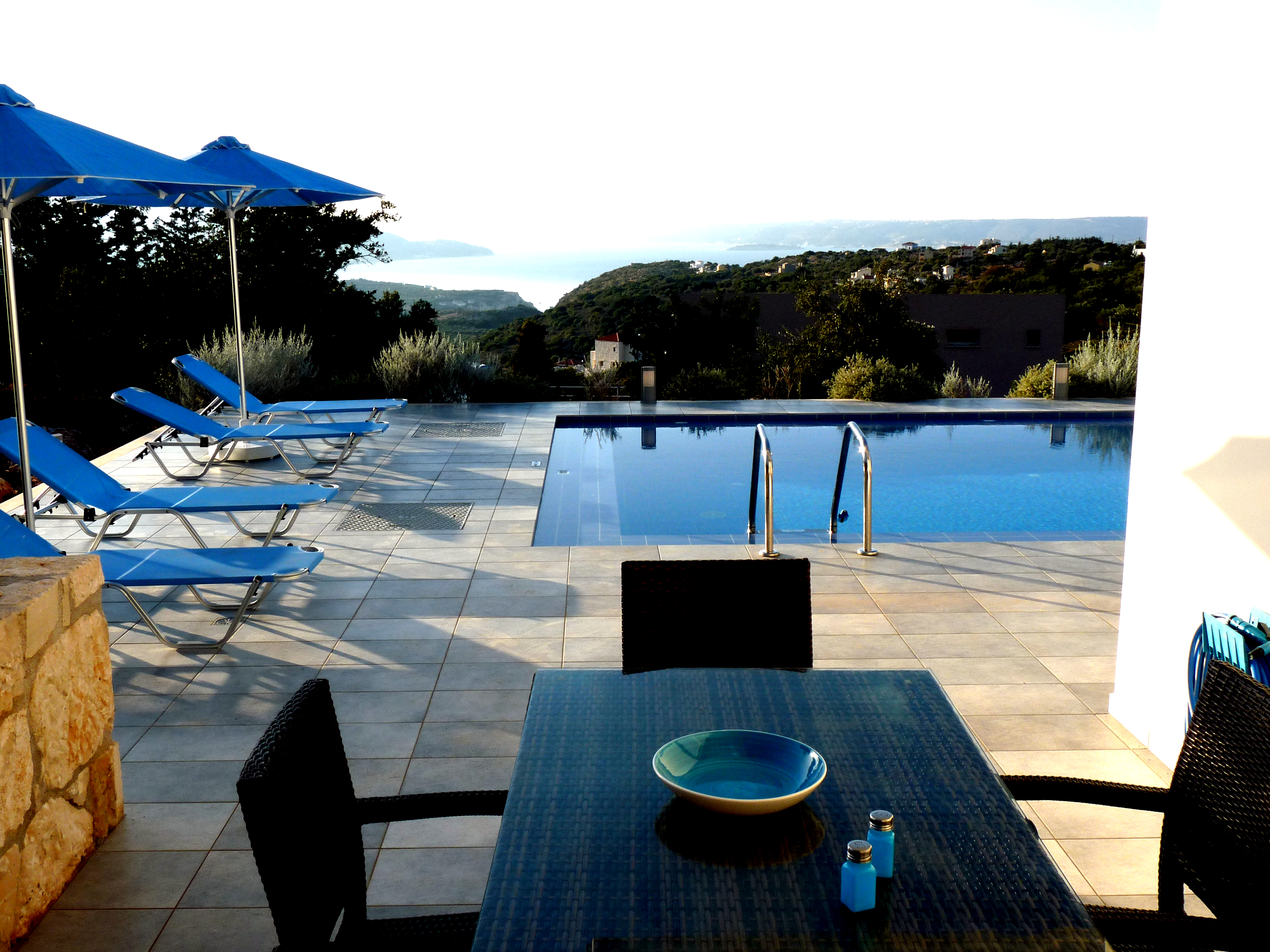 terrasse Villa Penelope