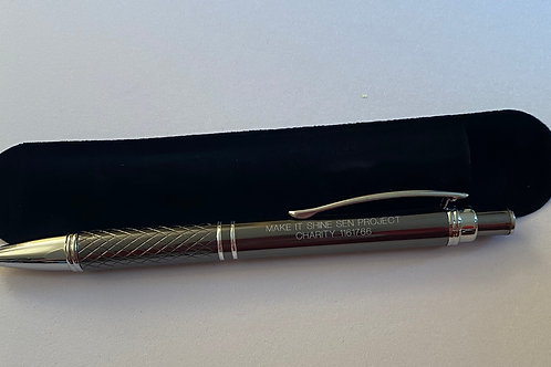 Black ball tip pen