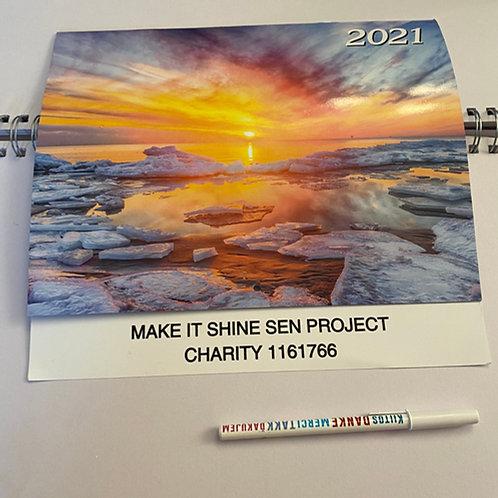2021 Make it Shine Calendar & Pen