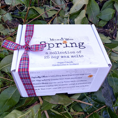 Spring Clean Gift Boxed Highly Scented Soy Wax Melts