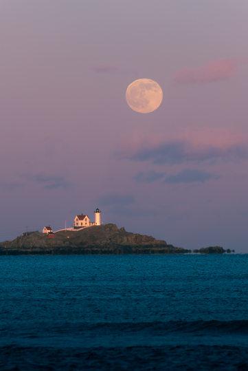 Northeastern Moonrise