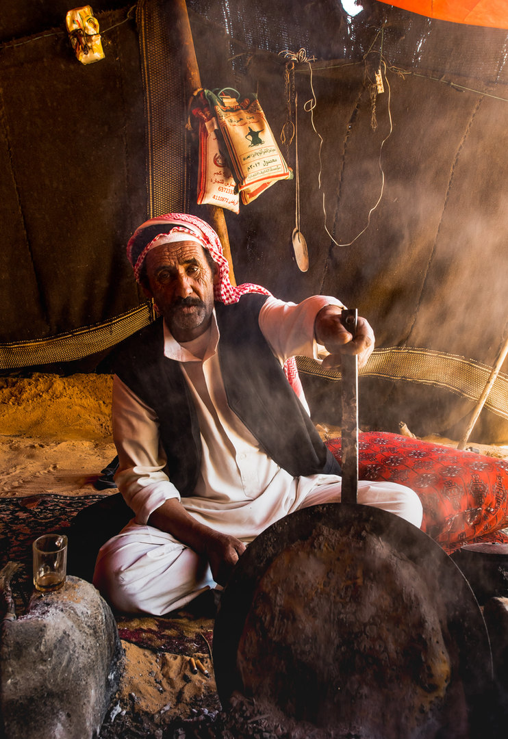 Legendary Bedouin Hospitality.