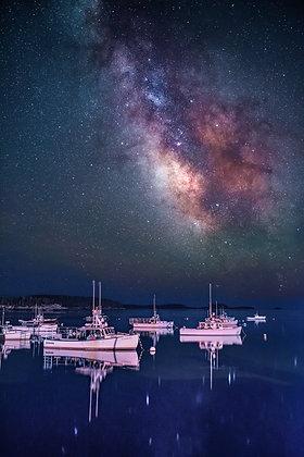 Stillness in the harbor