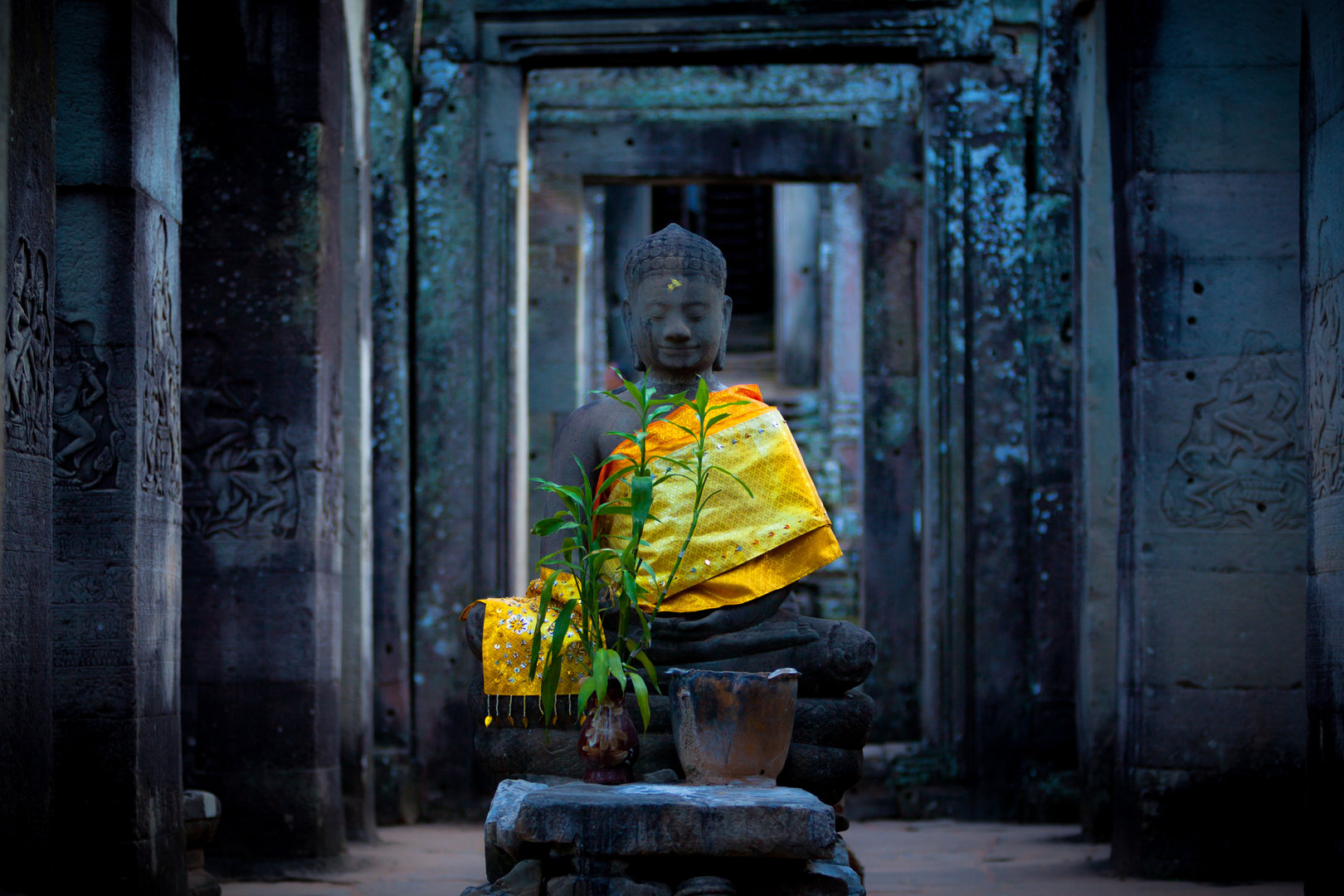 Buddha in Angkor.