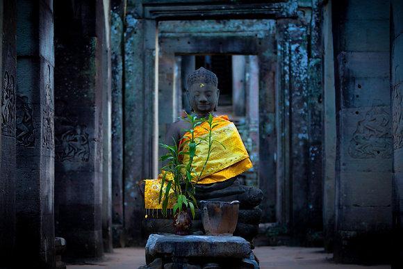 Buddha in Angkor Wat, Cambodia