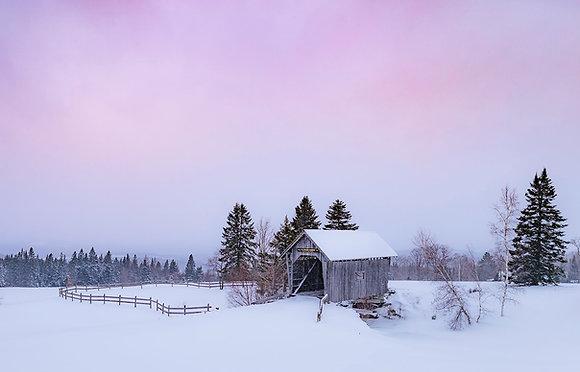Winter in the Northeast Kingdom