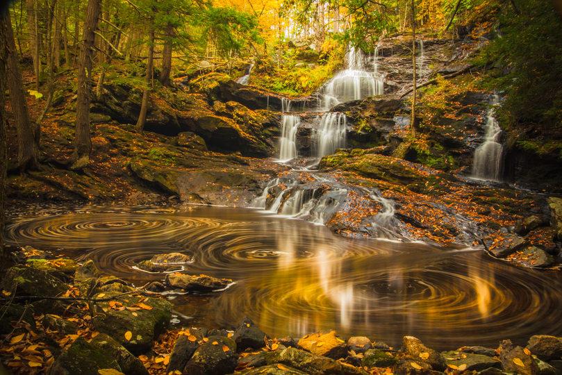Autumn at Garwin Falls.