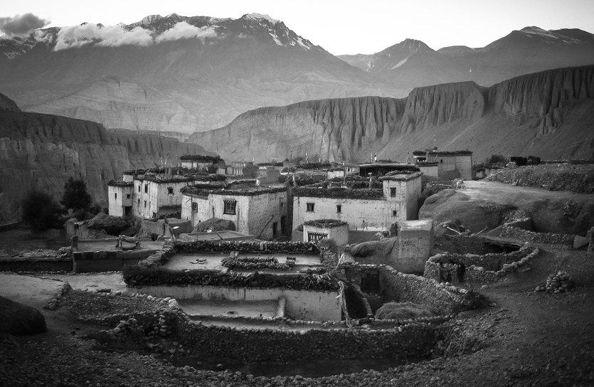Village in the Forbidden Kingdom.