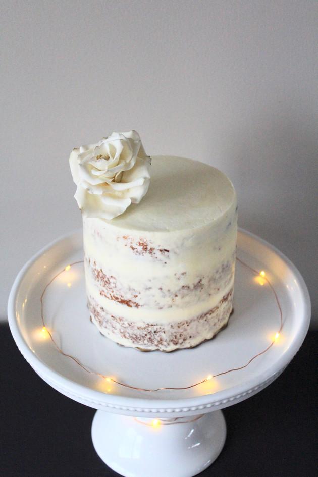 Semi-Naked Barrel Cake
