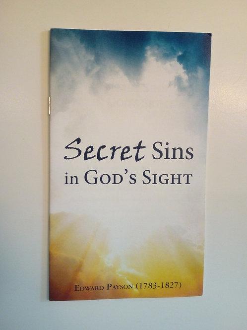 Secret Sins in God's sight - Edward Payson