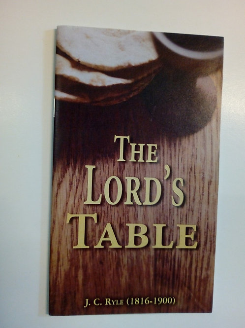 The Lord's table - John Charles Ryle
