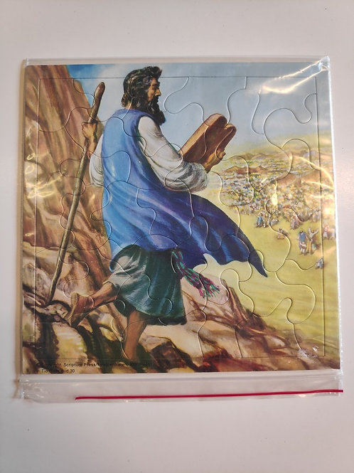 Pussel, Moses