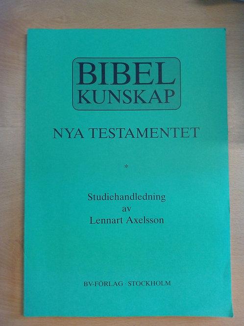 Bibelkunskap NT - Lennart Axelsson