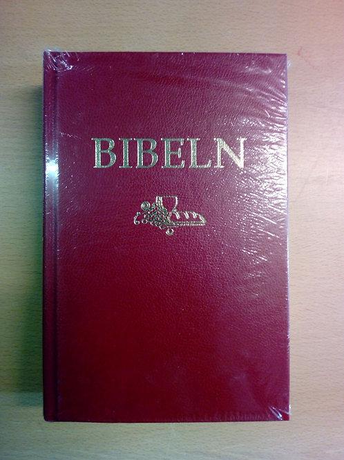 Svenska Folkbibeln 2015, mellanformat, hård pärm, röd