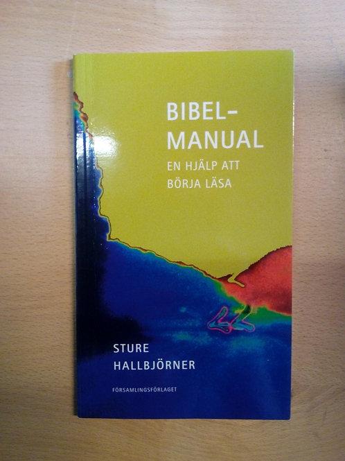 Hallbjörner, Sture, Bibelmanual