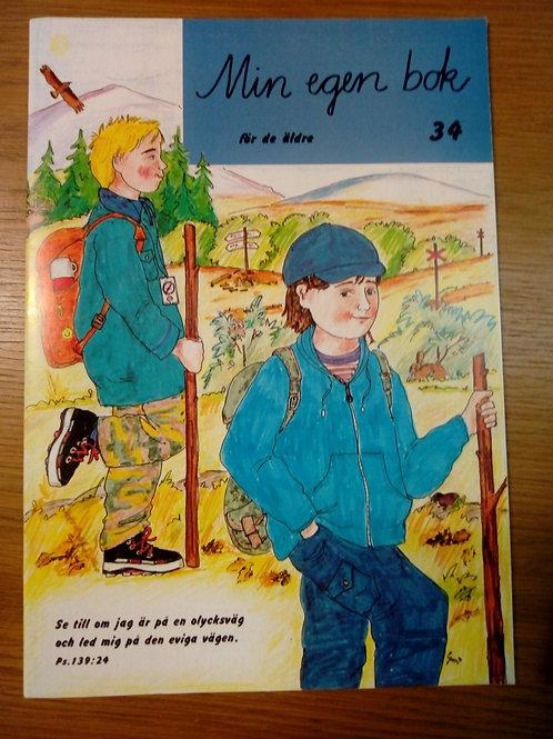 Min egen bok 34, för äldre barn