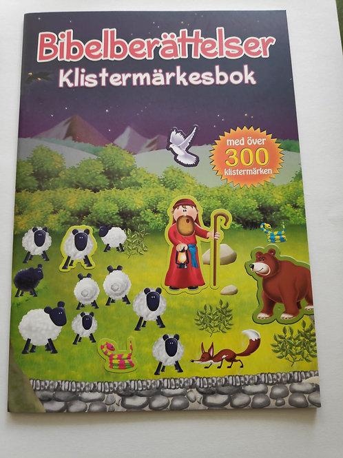 Bibelberättelser Klistermärkesbok