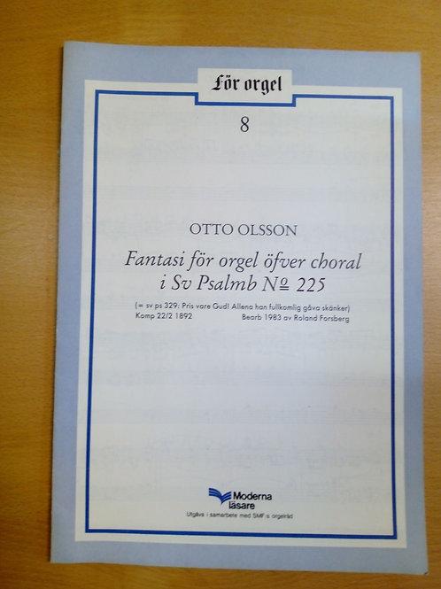 Otto Olsson, Fantasi för orgel