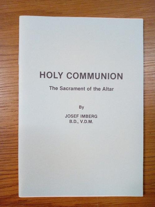 Holy Communion - Josef Imberg