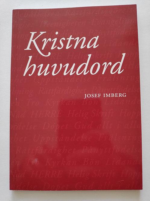 Kristna huvudord - Josef Imberg