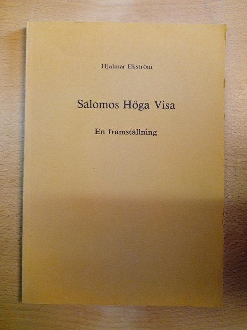 Ekström, Salomos Höga Visa
