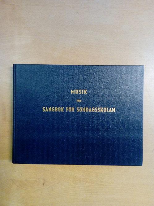 Söndagsskolans sångbok, musikbok