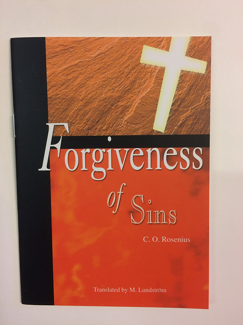 Forgiveness of Sins - C.O Rosenius