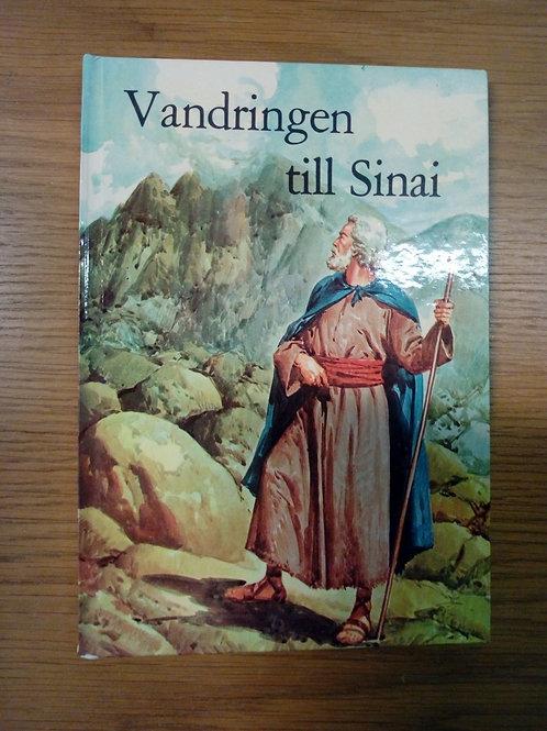 Vandringen till Sinai - Barnens bibelbibliotek,
