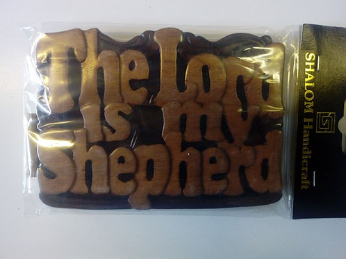 The Lord is my Shepherd, trämagnet