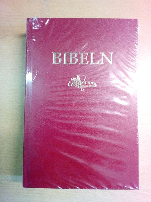 Svenska Folkbibeln 2015, storformat, hård pärm, röd