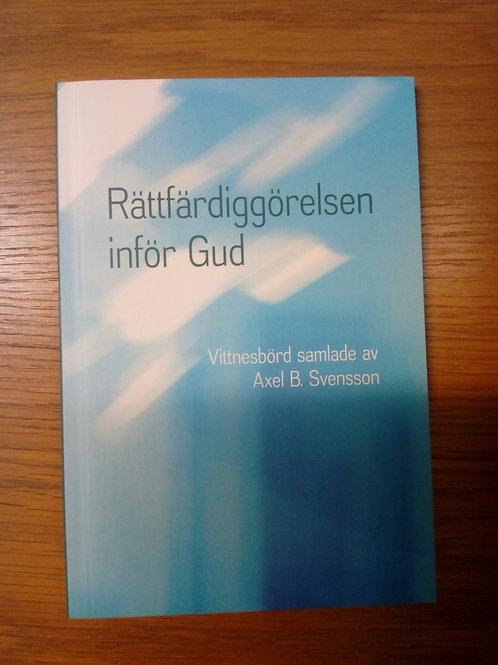 Rättfärdiggörelsen inför Gud - Svensson Axel B,