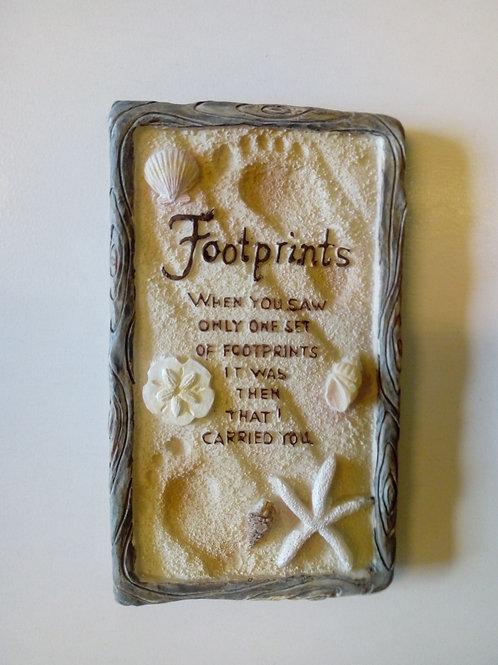 Footprints, keramik - Magnet