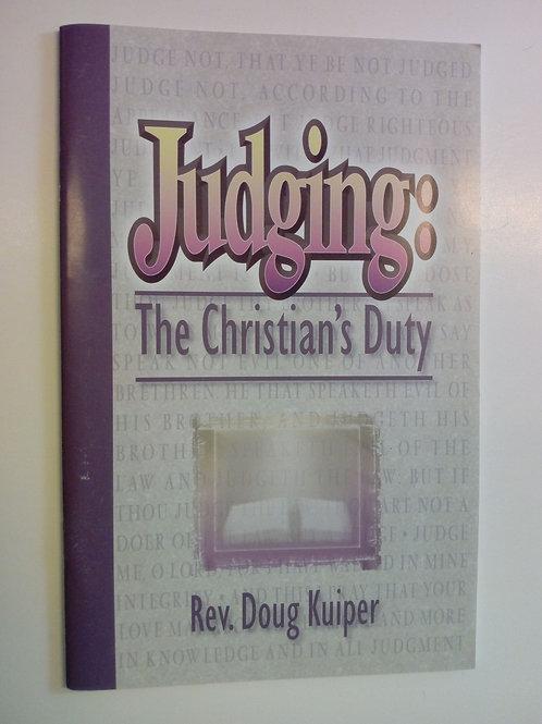 Judging - Rev. Doug Kuiper