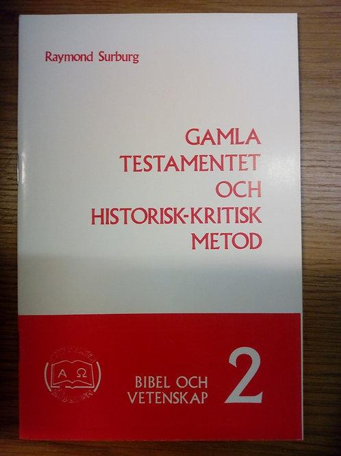 Gamla testamentet och historisk-kritisk metod - Surburg A