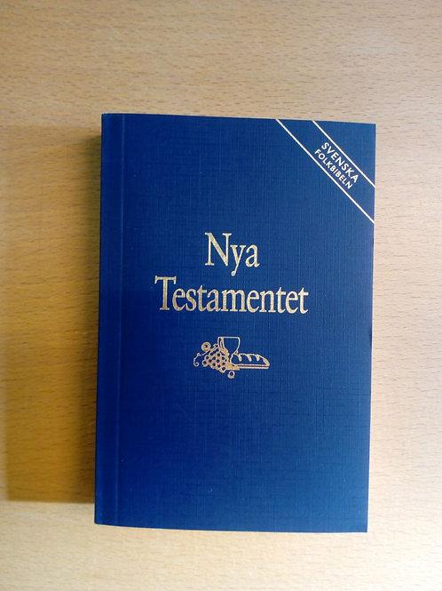 NT Folkbibeln, inb. blå