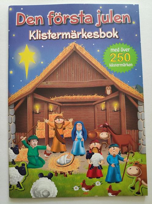 Den första julen Klistermärkesbok