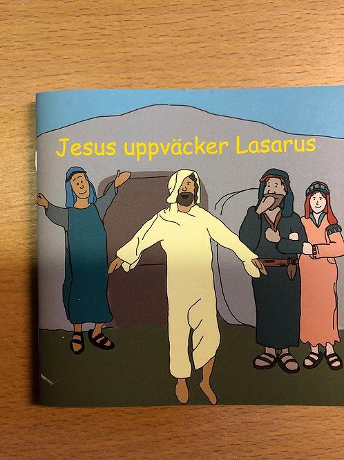 Jesus uppväcker lasarus, Minibok
