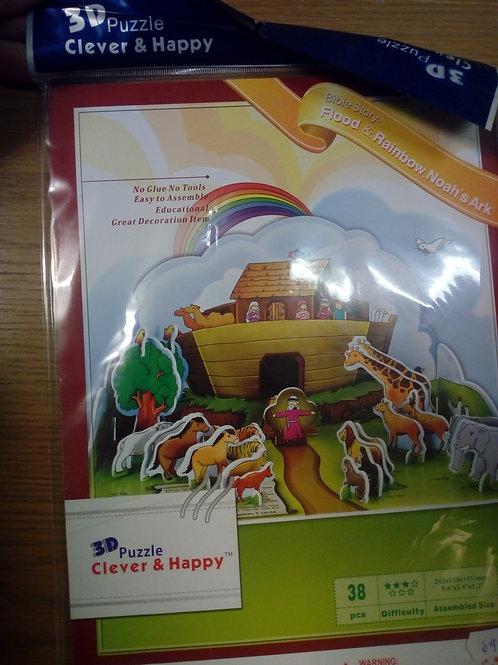 Noas ark, Pussel